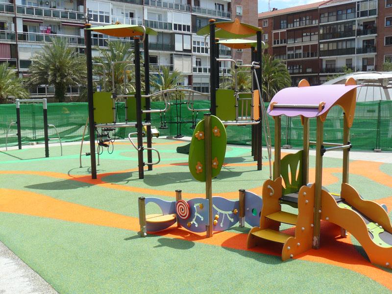 Creacion de area de juegos en Josu Murueta